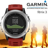 Garmin Fenix 3 Silver?Outdoor GPS Smart Watch ?Multi Sports: Running Hiking?ABC