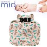 Bambino Mio Wet Nappy Bag Wild Cat | Simple Fold | Roll Closure | Holds 4 Nappies