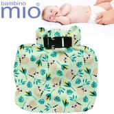 Bambino Mio Wet Nappy Bag Swinging Sloth | Simple Fold | Roll Closure | Holds 4 Nappy