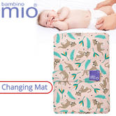 Bambino Mio Baby's Nappy Changing Mat Wild Cat | Indoor/Outdoor | Easily Foldable