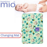 Bambino Mio Baby's Nappy Changing Mat Swinging Sloth | Indoor/Outdoor | Easy To Fold