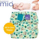 Bambino Mio Miosolo All In One Nappy Swinging Sloth | Water Resistant | Adjustable