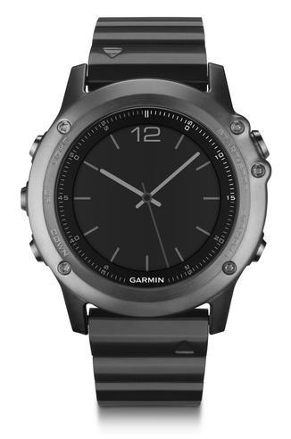 Garmin Fenix 3 Sapphire GPS Outdoor MultiSports Metal Strap ABC Smart Watch Thumbnail 2