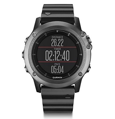 Garmin Fenix 3 Sapphire GPS Outdoor MultiSports Metal Strap ABC Smart Watch Thumbnail 3