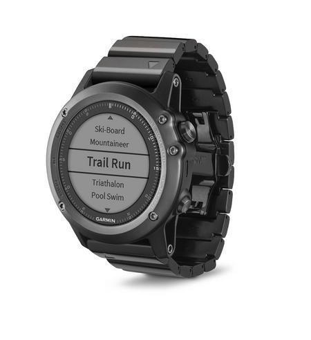 Garmin Fenix 3 Sapphire GPS Outdoor MultiSports Metal Strap ABC Smart Watch Thumbnail 5
