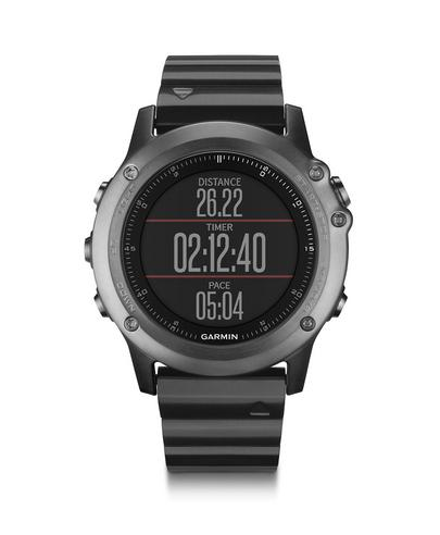 Garmin Fenix 3 Sapphire GPS Outdoor MultiSports Metal Strap ABC Smart Watch Thumbnail 6