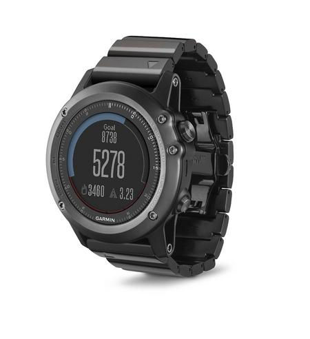 Garmin Fenix 3 Sapphire GPS Outdoor MultiSports Metal Strap ABC Smart Watch Thumbnail 7