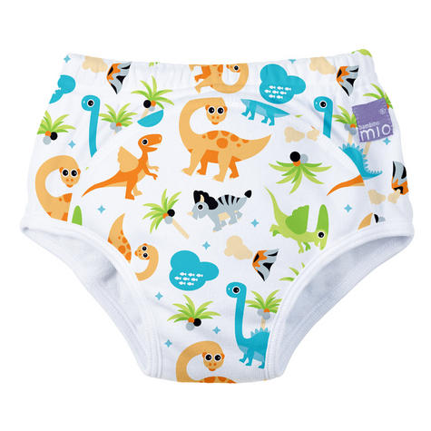 Bambino Mio Potty Training Pants Dino | Wetless Feel | Washable | 80% Cotton | 2-3years Thumbnail 2