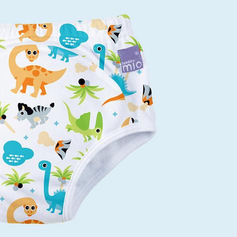 Bambino Mio Potty Training Pants Dino | Wetless Feel | Washable | 80% Cotton | 2-3years Thumbnail 3