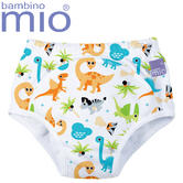 Bambino Mio Potty Training Pants Dino | Wetless Feel | Washable | 80% Cotton | +3Years