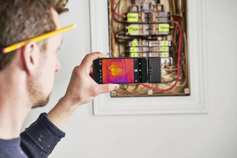 Flir ONE PRO LT Android USB-C Thermal Imaging Camera | USB-C Connector | For Smartphones Thumbnail 7