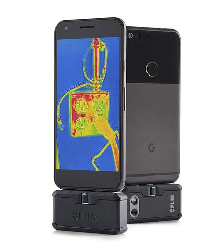 Flir ONE PRO Android USB-C Thermal Imaging Camera | USB-C Connector | For Smartphones Thumbnail 2