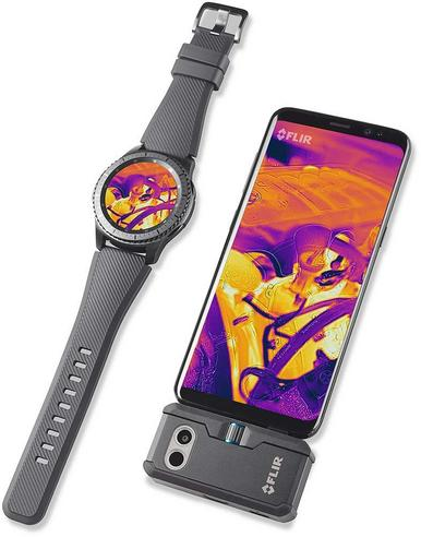 Flir ONE PRO Android USB-C Thermal Imaging Camera | USB-C Connector | For Smartphones Thumbnail 6
