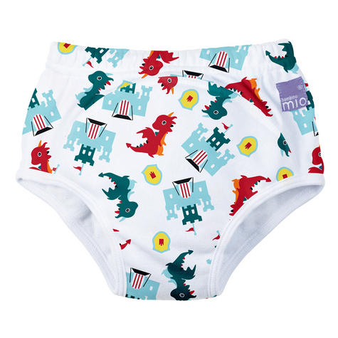 Bambino Mio Potty Training Pants Dragon's Dungeon | Wetless Feel | 80% Cotton | 2-3yrs Thumbnail 2