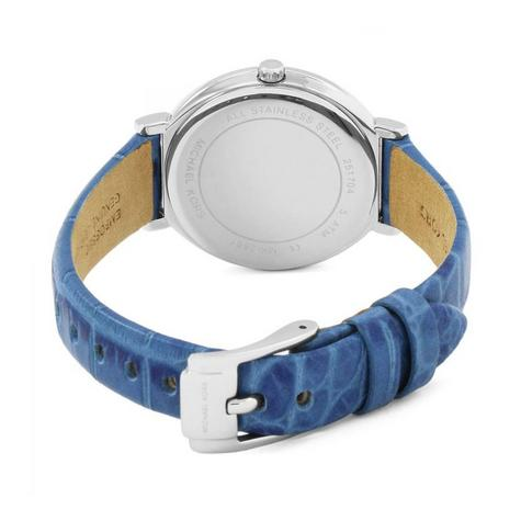 Michael Kors Cinthia White Mother Of Pearl Dial Leather Band Ladies Watch MK2661 Thumbnail 3