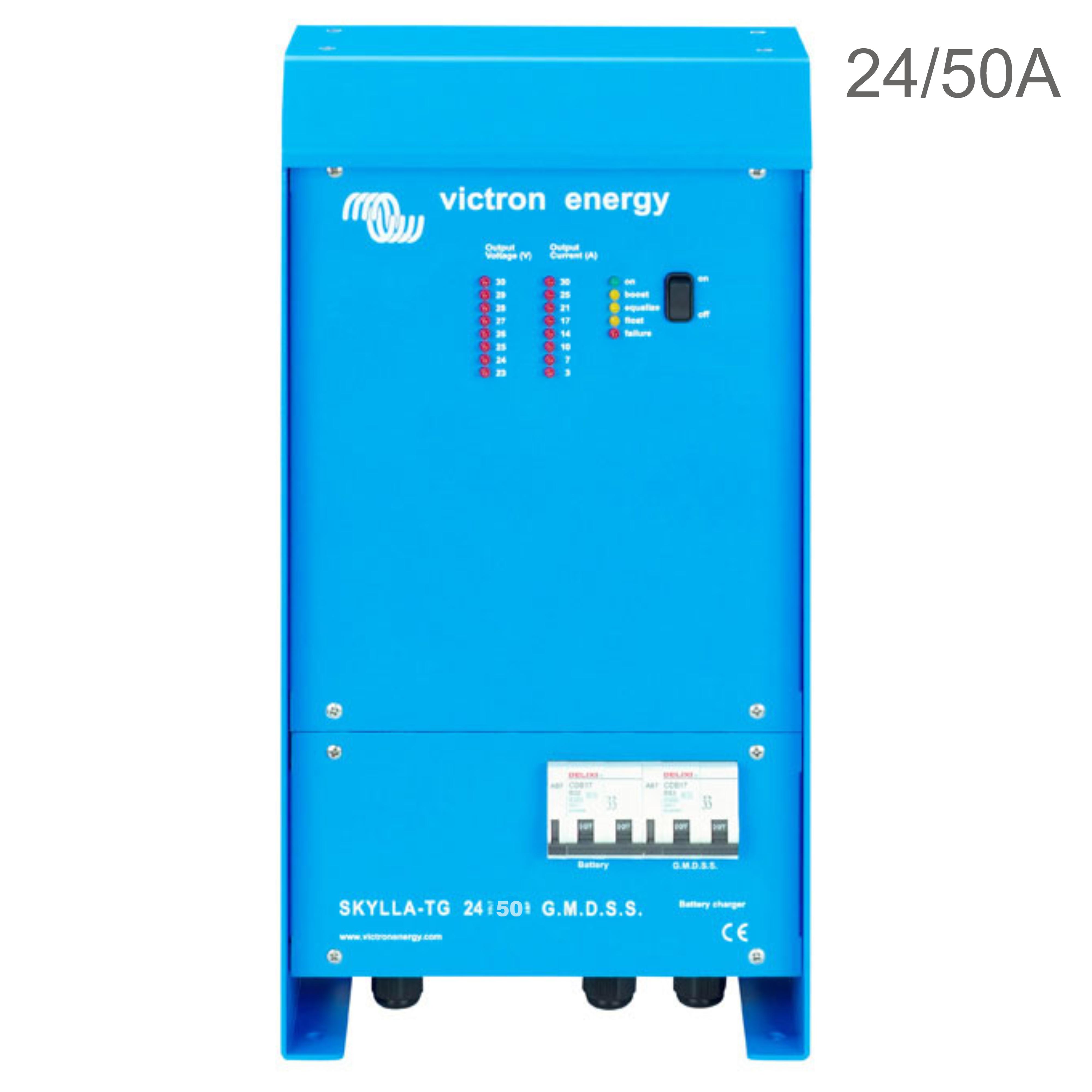 Victron Energy Skylla-TG Charger 24V/50A GMDSS | 90 - 265V AC | IP 21 | SDTG2400504