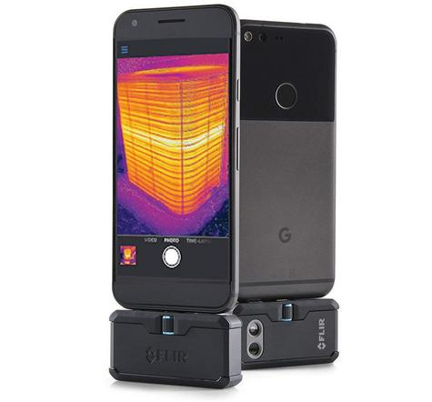 Flir ONE PRO LT Android USB-C Thermal Imaging Camera | USB-C Connector | For Smartphones Thumbnail 8