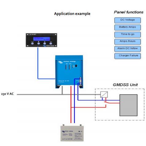 Victron Energy Skylla-TG Charger 24V/30A GMDSS | 90 - 265V AC | IP 21 | SDTG2400302 Thumbnail 2