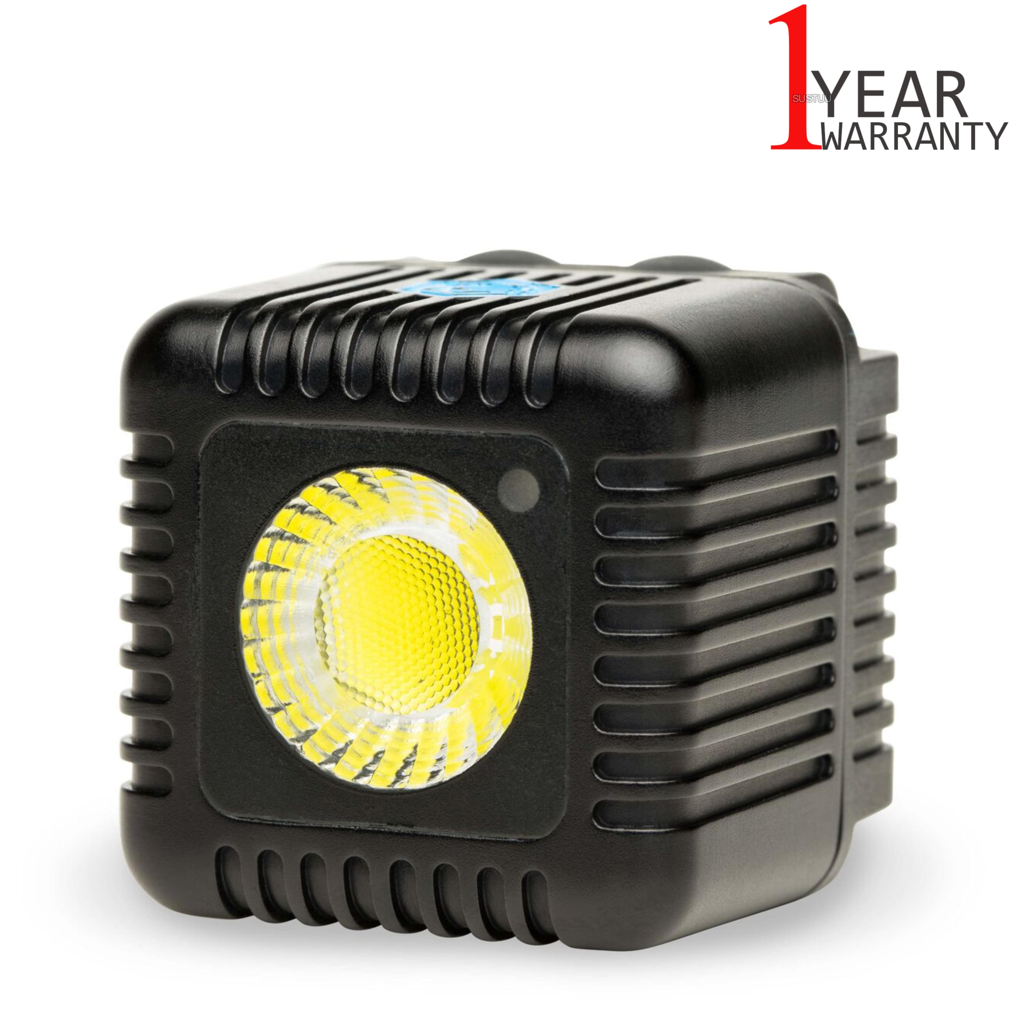 Lume Cube LC11B Single Mini Portable LED Action Light | Bluetooth Controlled | Black