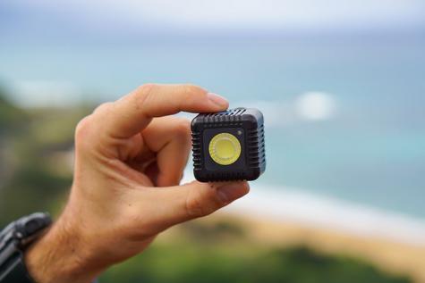 Lume Cube LC11B Single Mini Portable LED Action Light | Bluetooth Controlled | Black Thumbnail 3