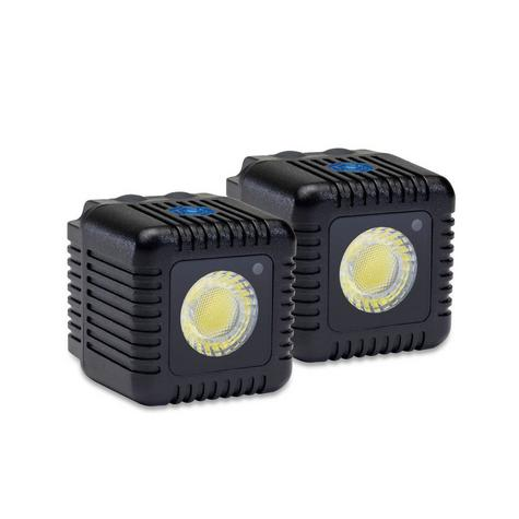 Lume Cube LC-22B Dual Cube Pack Mini Portable LED Action Light | Bluetooth Controlled | Black Thumbnail 2