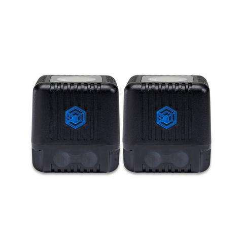 Lume Cube LC-22B Dual Cube Pack Mini Portable LED Action Light | Bluetooth Controlled | Black Thumbnail 5