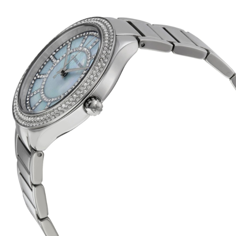 Michael Kors Kerry Mother of Pearl Dial Stainless Steel Ladies Watch MK3395 | NEW Thumbnail 2