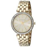 Michael Kors Mini Darci Gold Tone Stainless Steel Round Dial Ladies Watch Mk3365