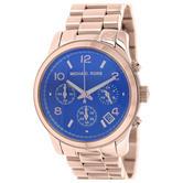 Michael Kors Runway Chronograph Rose Gold Ladies Watch | Iridescent Dial | MK5940