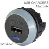 Alfatronix Proverter Pro USB Charger | Single Output | 12/24-5V | IP30 | CE/E Marked