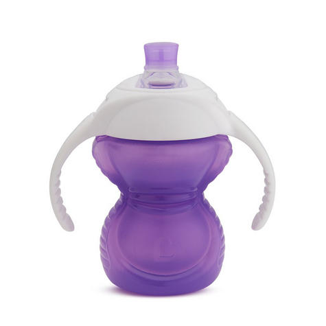 Munchkin ClickLock Chew Proof Baby's Trainer Cup | Soft Sippy Cup | Flip Straw Cup Thumbnail 5