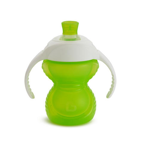 Munchkin ClickLock Chew Proof Baby's Trainer Cup | Soft Sippy Cup | Flip Straw Cup Thumbnail 6