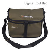 Shakespeare Sigma Trout Fishing Luggage Bag | Waterproof | 1315274 | Green