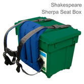 Shakespeare Seatbox Sherpa (Carrier Only) | Easy to Fit | 30 x 50 cm | Blue