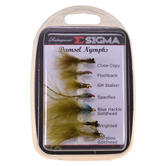 Shakespeare Sigma Fly Selection No.4 | Damsel Nymphs - 7 Assorted Styles | 1155010