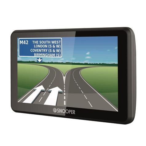 Snooper Ventura S6900 | 7'' Caravan & Motorhome GPS SatNav | Lifetime European Maps Thumbnail 2