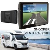 Snooper Ventura S6900 | 7'' Caravan & Motorhome GPS SatNav | Lifetime European Maps