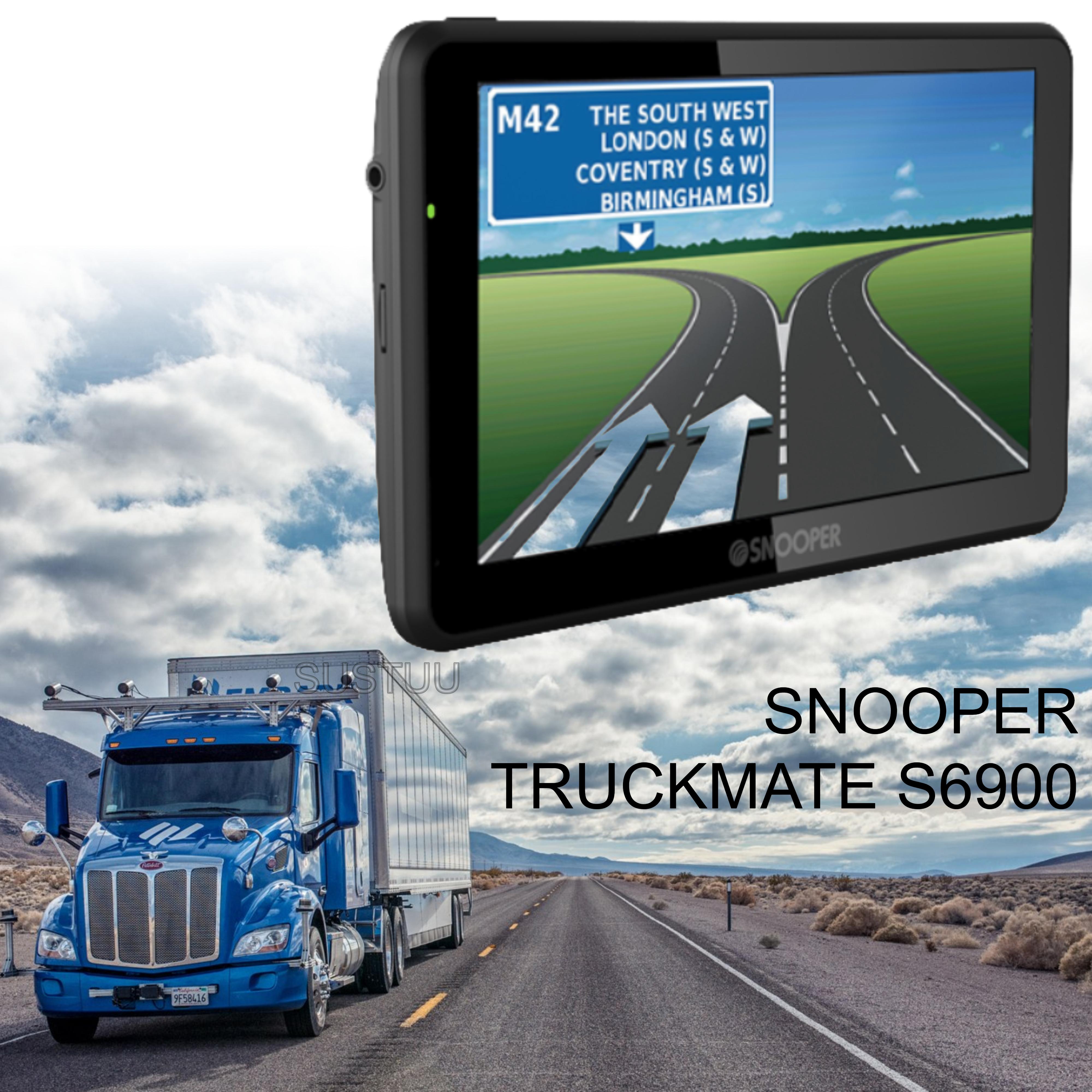 Snooper Truckmate S6900   7'' HGV-Car GPS SatNav   Free Lifetime European Map Updates