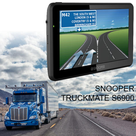 Snooper Truckmate S6900   7'' HGV-Car GPS SatNav   Free Lifetime European Map Updates Thumbnail 1