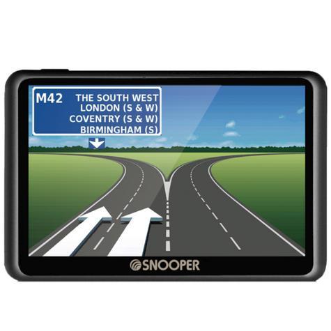 Snooper Truckmate S6900   7'' HGV-Car GPS SatNav   Free Lifetime European Map Updates Thumbnail 2