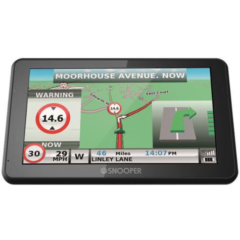 Snooper Truckmate S6900   7'' HGV-Car GPS SatNav   Free Lifetime European Map Updates Thumbnail 5