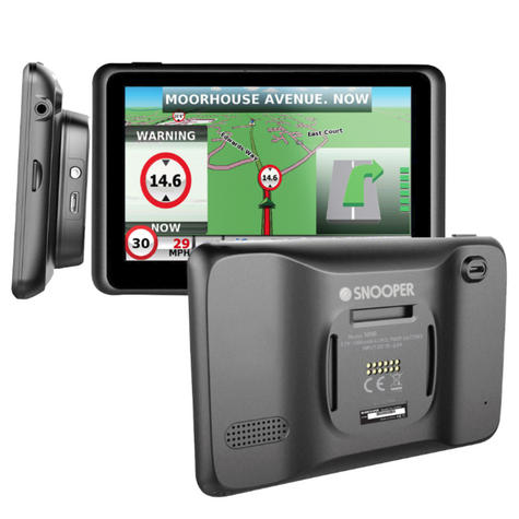 Snooper Truckmate S6900   7'' HGV-Car GPS SatNav   Free Lifetime European Map Updates Thumbnail 7