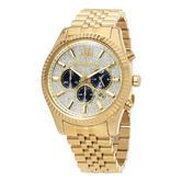 Michael Kors Lexington Men's Watch|Crystal Pave Chrono Dial|Bracelet Band|MK8494