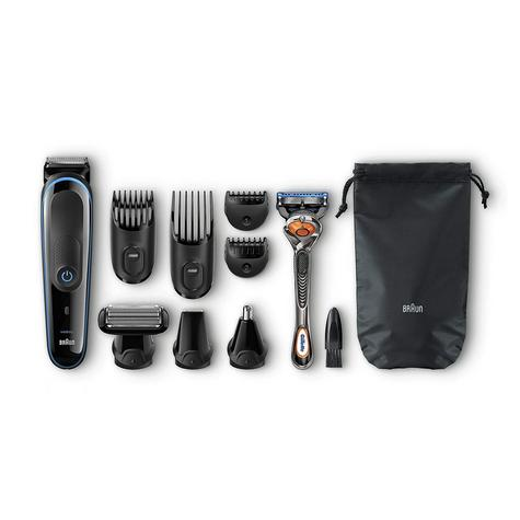 Braun Multi Grooming Kit | 9 in 1 Precision Trimmer for Beard & Hair Style | MGK3085 Thumbnail 2