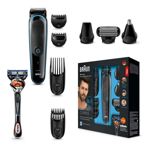 Braun Multi Grooming Kit | 9 in 1 Precision Trimmer for Beard & Hair Style | MGK3085 Thumbnail 5