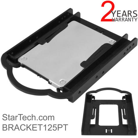 """StarTech 2.5"""" SSD/HDD Mounting Bracket for 3.5"""" Drive Bay 