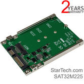 StarTech M.2 SSD to 2.5'' SATA Drives Adapter Converter   Open Frame Steel Mounting Bracket