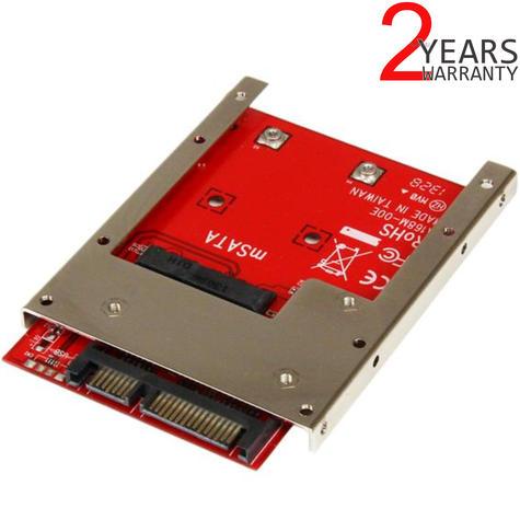 StarTech mSATA SSD to 2.5 inch SATA Drive Adapter Converter   Open Frame Bracket Thumbnail 1
