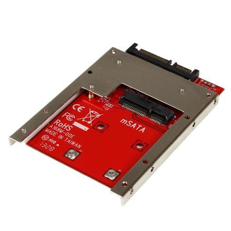 StarTech mSATA SSD to 2.5 inch SATA Drive Adapter Converter   Open Frame Bracket Thumbnail 2