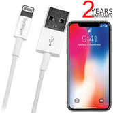 StarTech USB to Slim Lightning Connector Charge / Sync Cable   1 m Lead   iPad-iPod-iPhone   PC/Mac